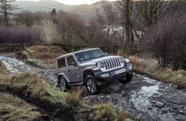 Jeep Wrangler Sahara, dynamic, off-road