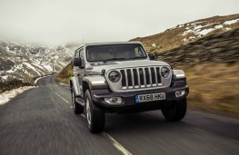 Jeep Wrangler Sahara, dynamic