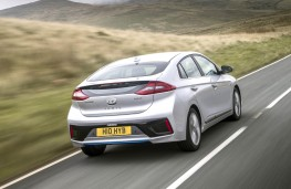Hyundai Ioniq Hybrid, rear