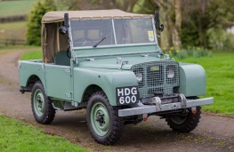 Land Rover Series One, 1948