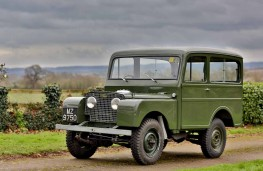 Land Rover Series One Station Wagon with coachwork by Tickford, 1950