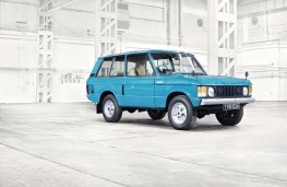 Range Rover, 1970, front