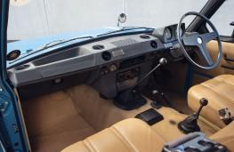 Range Rover, 1970, interior