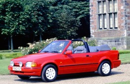 Ford Escort XR3i convertible, 1983