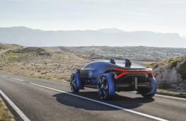 Citroen 19_19 Concept, 2019, rear