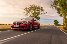 BMW M135i xDrive, 2019, front