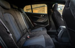 BMW M135i xDrive, 2019, rear seats