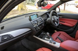 BMW 1 Series, interior, auto