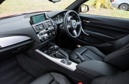 BMW 1 Series, interior, manual