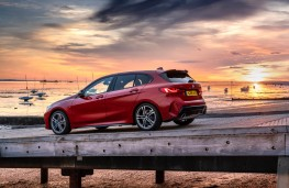 BMW M135i xDrive, 2019, side