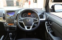 Ssangyong Korando ELX, controls