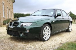 2004 MG Rover ZT Turbo  front