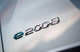 Peugeot e2008, 2019, badge