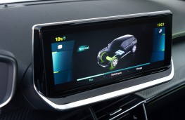 Peugeot e2008, 2019, display screen