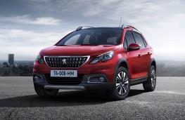 Peugeot 2008, 2016, front