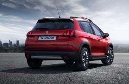 Peugeot 2008, 2016, rear