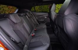 Peugeot 2008, 2019, rear seats