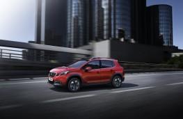 Peugeot 2008, 2016, side