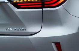 Lexus RX450h, tail light detail