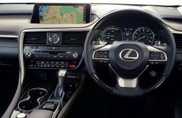 Lexus RX450h, dashboard