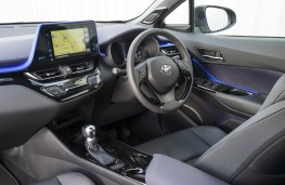 Toyota C-HR, interior