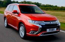 Mitsubishi Outlander PHEV, front, dynamic