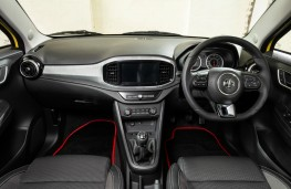 MG3, dashboard