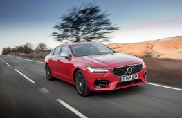Volvo S90 R-Design, dynamic