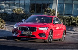 Volvo S90 R-Design, action