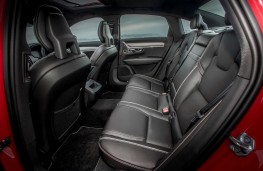 Volvo S90 R-Design, interior rear