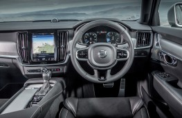 Volvo V90 R-Design, controls