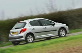 Peugeot 207, rear