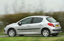 Peugeot 207, side