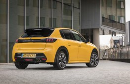 Peugeot 208, 2020, rear, static