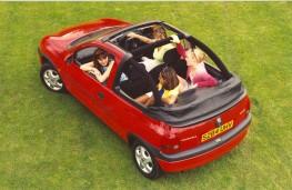 Vauxhall Corsa, convertible