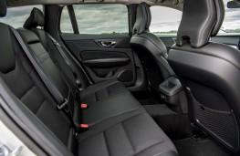Volvo V60, interior, rear