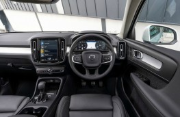 Volvo XC40, dashboard