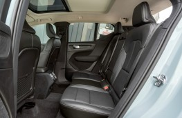 Volvo XC40, interior, rear