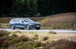 Volvo V60, front