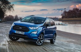 Ford EcoSport, front