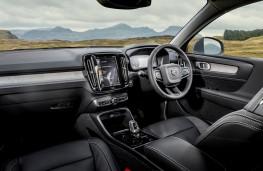 Volvo XC40 Recharge plug-in hybrid, interior