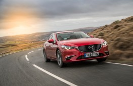 Mazda6 saloon, dynamic