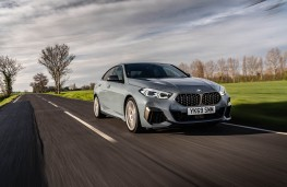 BMW M235i Gran Coupe, 2020, front, action
