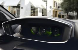 Peugeot 208, 2019, i-Cockpit instrument panel