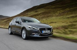 Mazda3, 2017, front, action