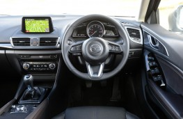 Mazda3, 2017, interior