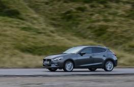 Mazda3, 2017, side, action