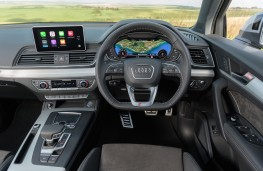 Audi Q5, 2017, dashboard