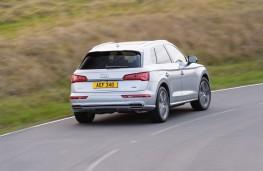 Audi Q5, 2017, rear, action