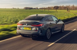BMW M235i Gran Coupe, 2020, rear, action